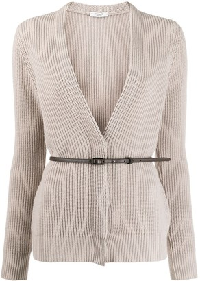 Peserico Cable Knit Cardigan