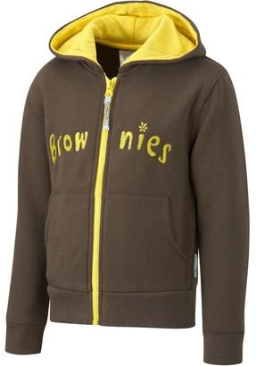 David Luke Brownie Girl Guides Uniform Hoodie Top Zip Up Hooded Zoodie 26