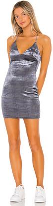 superdown Parker Velvet Mini Dress