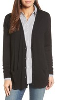 Halogen Women's Relaxed Pocket Cardigan