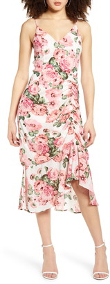 Leith Ruched Slipdress