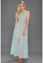 Bri Seeley - Harper Maxi Dress (Aqua) - Apparel
