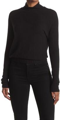 La La Land Creative Co Brushed Mock Neck Pullover Sweater