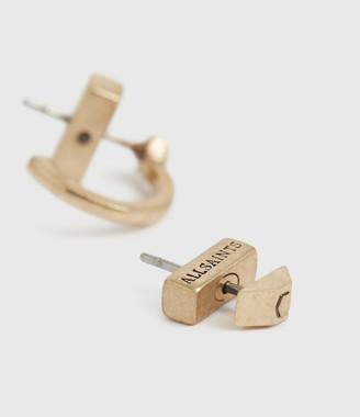 AllSaints Hallie Gold-Tone Earrings