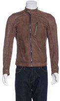 Belstaff Leigham Suede Moto Jacket w/ Tags