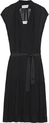 By Malene Birger Olindah Belted Pleated Georgette Dress