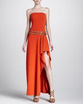 Michael Kors Strapless Coverup Maxi Dress, Sienna