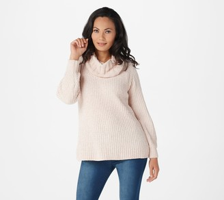 Anybody AnyBody Chenille Cowl Neck Sweater