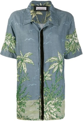 Night Market Hawaii short-sleeve shirt