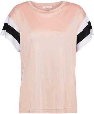 Rag & Bone Penny Striped Stretch-knit T-shirt