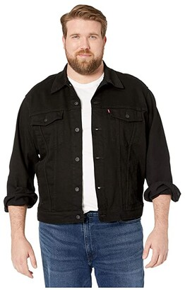 Levi's Big & Tall Big Tall Trucker Jacket (Lamar Stretch) Men's Coat