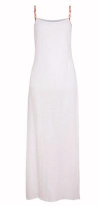 Pitusa Meditterranean Maxi White Dress
