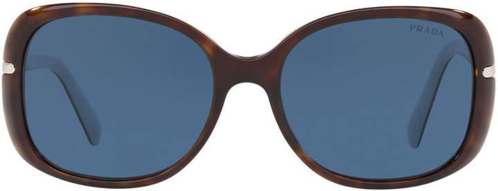 b281b553d7130 Prada Sunglasses Havana - ShopStyle Canada