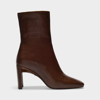 Miista Ankle Boots Ekaterina In Multi Smooth Leather