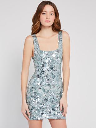Alice + Olivia Addie Beaded Mini Dress
