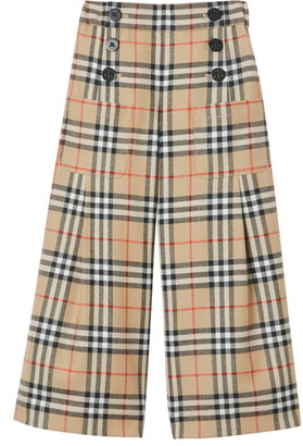 Burberry Taren Wide Leg Pants
