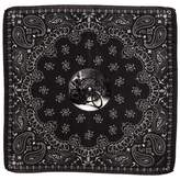 Black The 'Widow Maker' Italian Silk Pocket Square