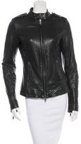 Rachel Zoe Leather Moto Jacket