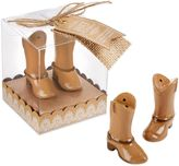 Kate Aspen Just Hitched Ceramic Cowboy Boot Salt and Pepper Shakers