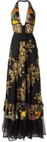 Isabela Capeto embroidered gown