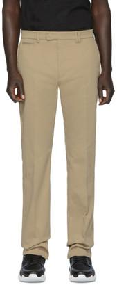 Fendi Tan Stretch Chino Trousers