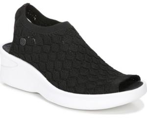 Bzees Secret Washable Wedge Sandals Women's Shoes