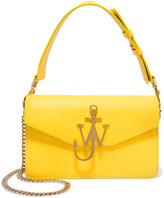 J.W.Anderson Logo Leather Shoulder Bag - Yellow