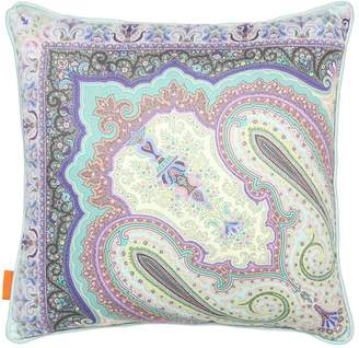 Etro AIGUES PRINTED COTTON PILLOW