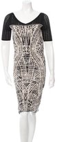 D-Exterior D. Exterior Patterned Midi Dress w/ Tags