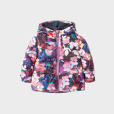 Paul Smith Baby Girls' Floral Print 'Magda' Hooded Jacket