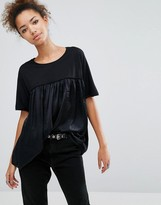 Pull&Bear Pleated Top
