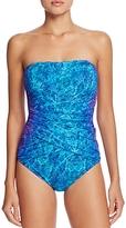Gottex Chameleon Bandeau One Piece Swimsuit