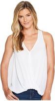 Stetson 1056 Crepe Sleeveless Twist Front Top Women's Sleeveless