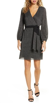 Sam Edelman Lurex Faux Wrap