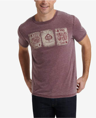 Lucky Brand Men Playing Cards Graphic T-Shirt