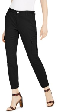 INC International Concepts Inc Petite Skinny Utility Pants, Created for Macy's