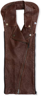 Veronica Beard Moto Leather Dickey