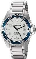 Momentum Women's Quartz Stainless Steel Diving Watch, Color:Silver-Toned (Model: 1M-DN11LT0)