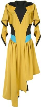 KIKO KOSTADINOV Asymmetric Cut-Out Dress