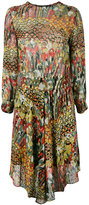 Zadig & Voltaire Roumi dress - women - Silk/Polyester/Spandex/Elastane/Metallic Fibre - S