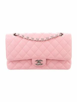 Chanel Medium Classic Double Flap Bag Pink