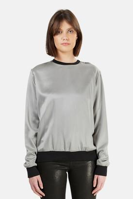 Alexander Wang Silk Sweatshirt