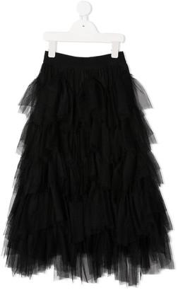 MonnaLisa Tiered Tulle Skirt