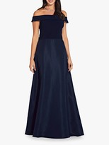 Adrianna Papell Jersey Taffeta Dress, Midnight