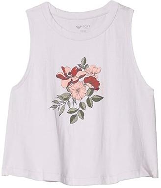 Roxy Kids Garden of Beauty Sleeveless Tee (Little Kids/Big Kids) (Lavender Fog) Girl's Clothing