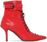 Philosophy di Lorenzo Serafini 75mm Embellished Lace-up Leather Boots