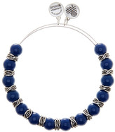 Alex and Ani Independence Adjustable Beaded Wire Bangle
