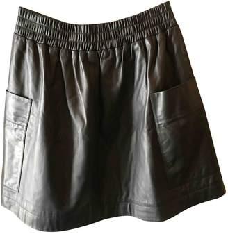 Sonia Rykiel Sonia By Black Leather Skirts