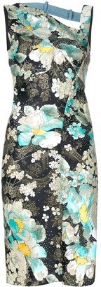 Christian Dior Pre-Owned Floral Print Dress