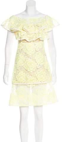 Alexis Lace Mini Dress w/ Tags